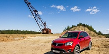 Спец-тест SsangYong Actyon